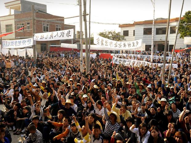 Wukan, China, protests, revolt