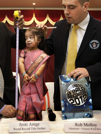 2 Foot Tall Indian Woman Named Worlds Shortest