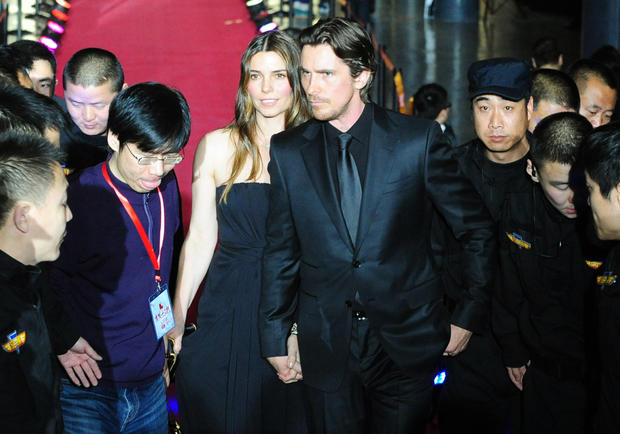 Christian Bale in China