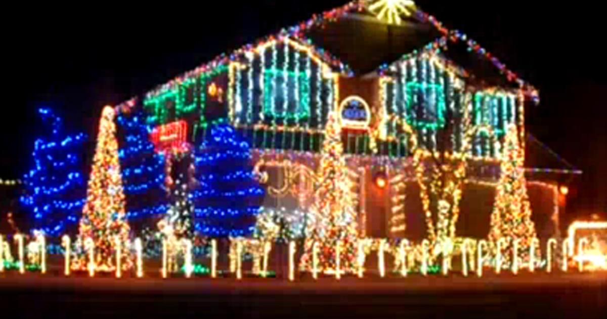- Dubstep Christmas House Lights Show In Meridian, ID - CBS News