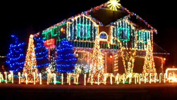 dubstep christmas house lights show in meridian id cbs news - Dubstep Christmas