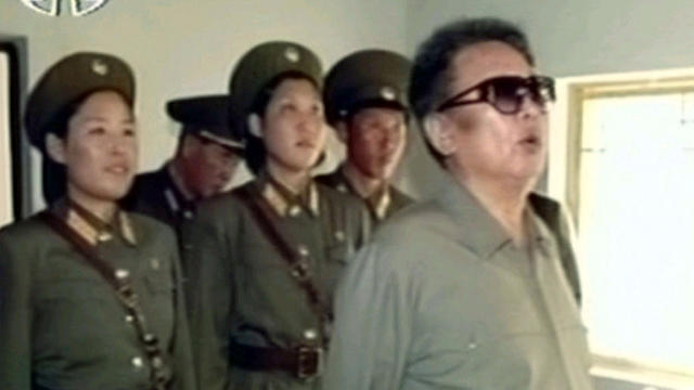 In this undated frame grab made from footage that aired Oct. 11, 2008, North Korean leader Kim Jong Il inspects a female military unit, marking the first time that photos were broadcast by North Korean news media of Kim in public after reports that he had