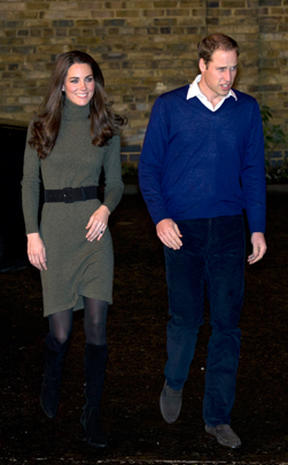 Prince William and Kate visit London charity