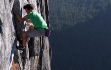 Filming mountain climber Alex Honnold