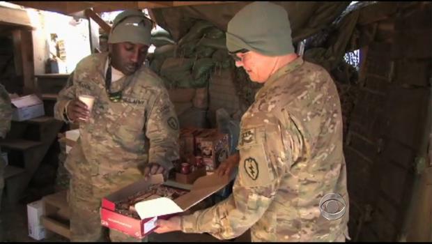 Christmas for troops in Afghanistan