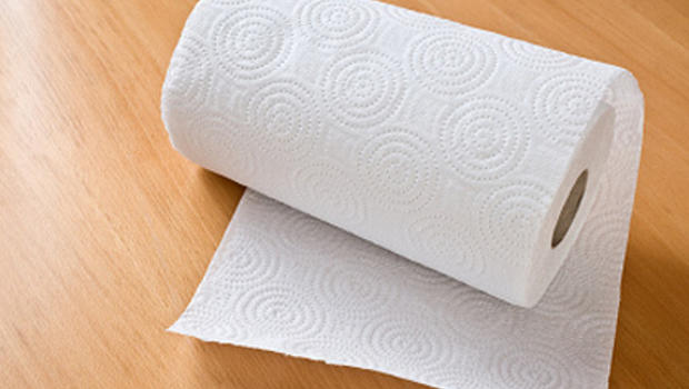 Paper Towel.  Paper towels actually carry germs study shows CBS News
