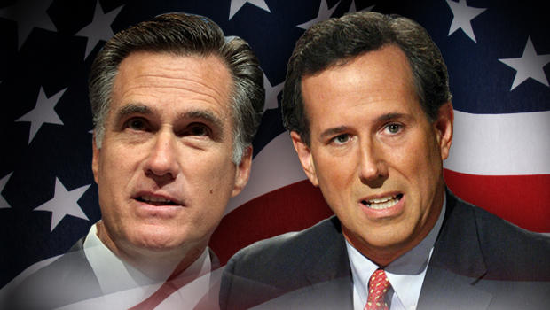 Fullwidth - 2012 - lowa Elections Mitt Romney Rick Santorum