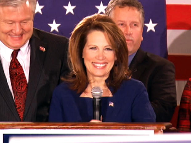 2012 - lowa Elections Michele Bachmann speech