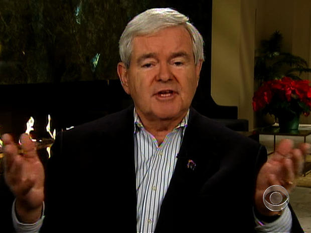 Gingrich takes Romney to task over campaign ads