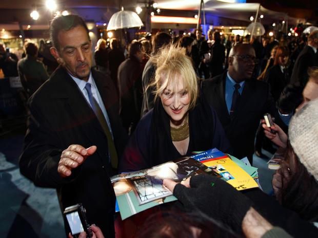 """""""The Iron Lady"""" European premiere"""