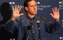 Santorum taking heat on gay rights, abortion