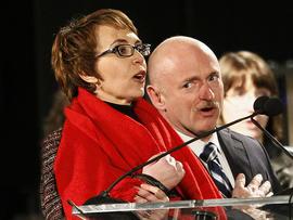 Giffords mulling re-election bid: husband