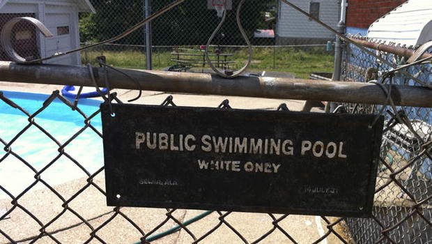 Ohio Panel Rules Whites Only Pool Sign Racist Cbs News