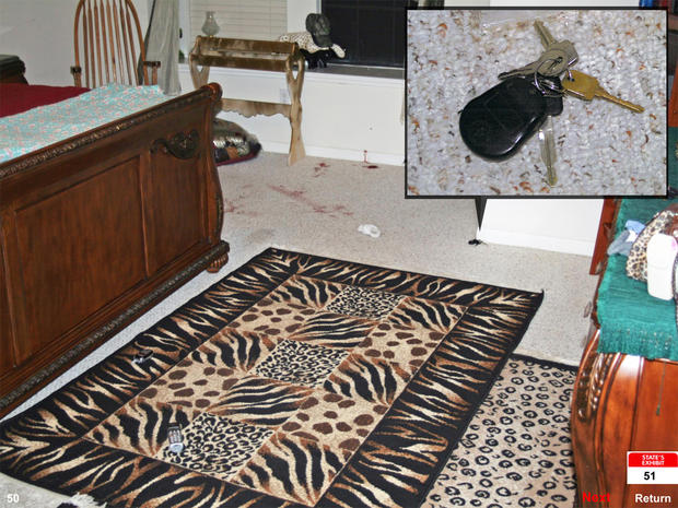 Follow the evidence: Shootout in the bedroom