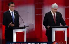 Romney takes Gingrich to task on speakership