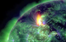 Spectacular solar storm reaches Earth