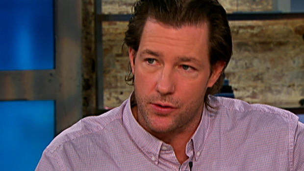 "Edward Burns on ""CBS This Morning."""