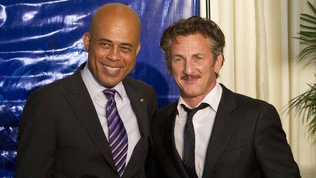 Sean Penn, Haiti, Michel Martelly