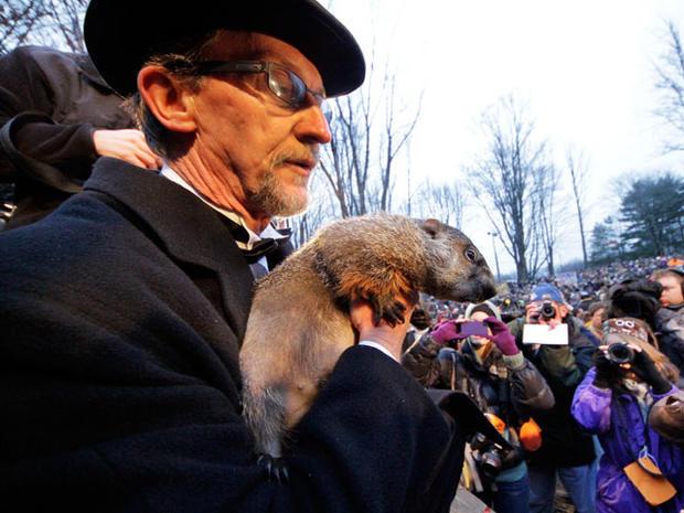 Groundhog Day 2012 in Punxsutawney