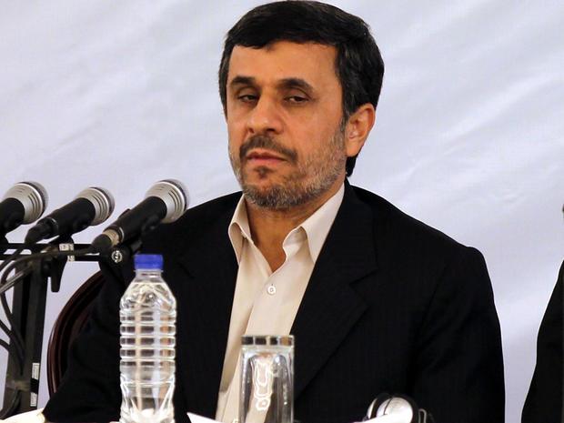 Iranian President Mahmoud Ahmadinejad attends the 25th International Islamic Unity Conference in Tehran Feb. 8, 2012.