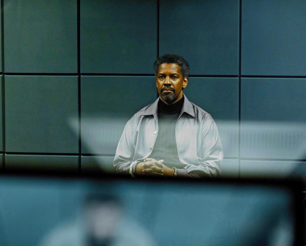 "Denzel Washington in a scene from ""Safe House."""