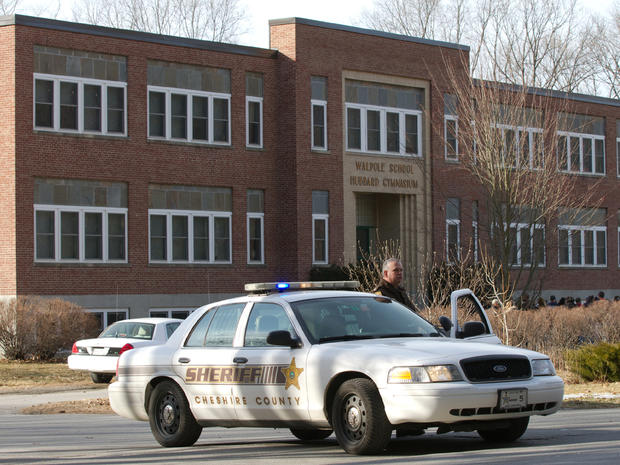 N.H. teen shoots self in school cafeteria