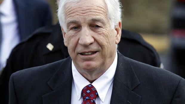 Jerry Sandusky in February