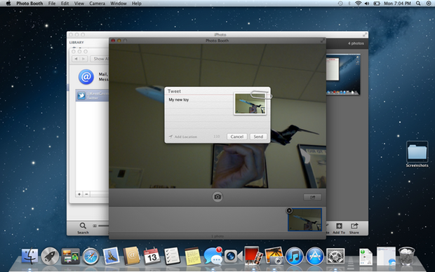 Apple's new Mountain Lion OS developer preview