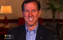 Rick Santorum on contraception flap