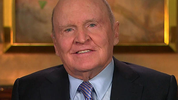 "Former General Electric CEO Jack Welch appears on ""CBS This Morning,"" Feb. 22, 2012.Morning"
