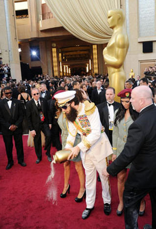 2012 Oscar red carpet