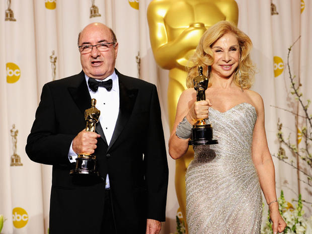 2012 Oscar winners in press room