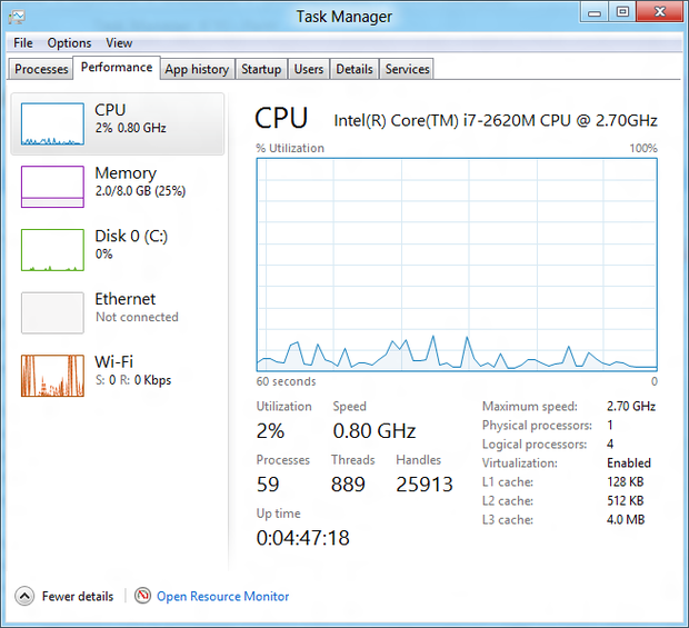 It's not all flash and bang in Windows 8. The decidedly unsexy Task Manager has been given a new coat of paint, and is easier to use, too.