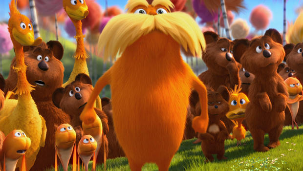 Dr Seuss The Lorax Characters