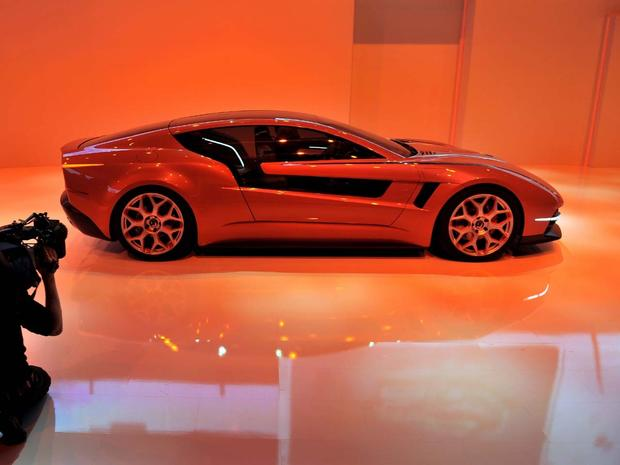 Sexy cars at the Geneva Motor Show