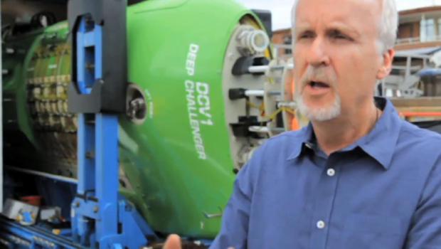 James cameron reaches record 7 mile ocean depth cbs news publicscrutiny Choice Image