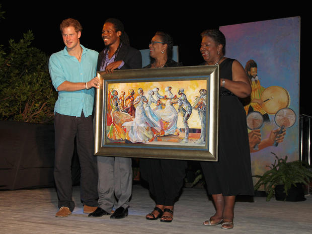 Prince Harry visits Jamaica