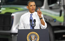Obama's job-approval rating at all-time low