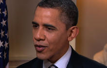 Obama responds to CBS News/NYT poll on gas prices
