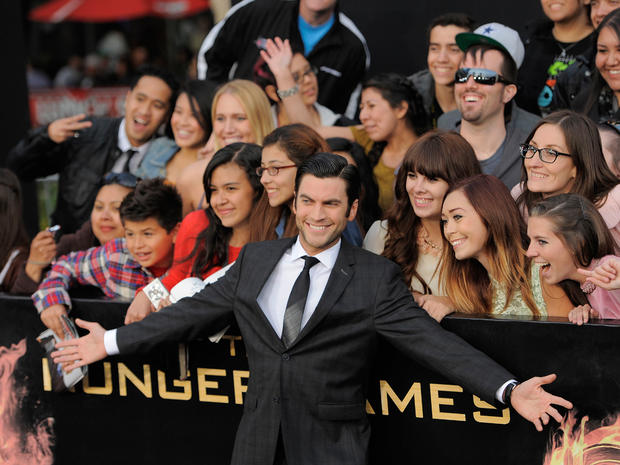 """The Hunger Games"" premiere"
