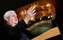 Gingrich falls short in Ala., Miss., vows to stay in race