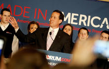"Santorum on Ala. win: ""We did it again"""