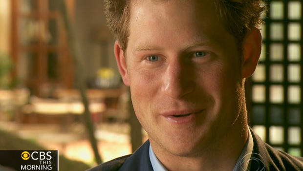 Prince Harry: You've got to give something back
