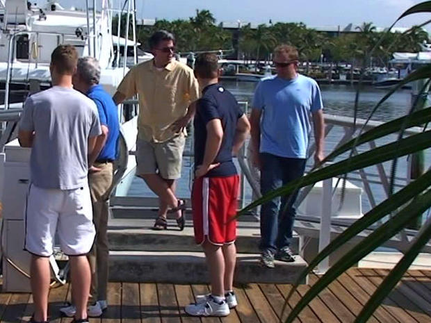Atkinson Congressional Vacation boarding boat