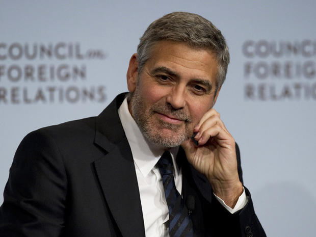 George Clooney in Washington