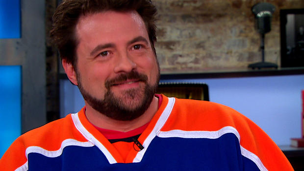 "Kevin Smith on ""CBS This Morning."""