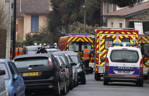 Southern France shootings
