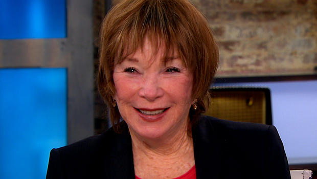 """Shirley MacLaine on """"CBS This Morning."""""""