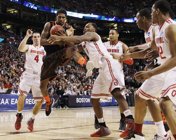 2012 NCAA tournament: Regional finals