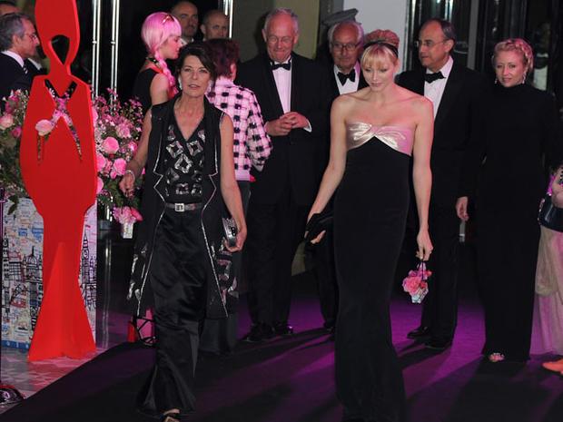 Monaco's Rose Ball 2012